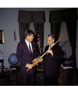 President John F. Kennedy with American Cancer Society New 8x10 Photo - $8.81