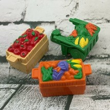 Fisher Price Little People Replacement Food Crates Vegetable Cart - $14.84