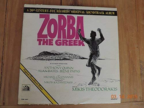 Zorba The Greek Vinyl Lp Original Soundtrack Album