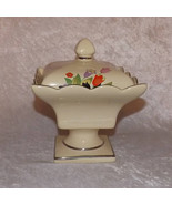 Hall Crocus Covered Pedestal Compote Candy Dish Exclusive Limited Edition  - $29.99