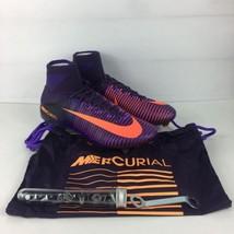 Nike Mercurial Superfly V SG-PRO Soccer Cleats Sz 12 Purple Dynasty 8319... - £105.32 GBP