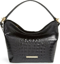New! Authentic! Brahmin Small Harrison Hobo Bag-Black - $329.07