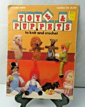 1978 Leisure Arts Toys & Puppets to knit and crochet pattern - $8.00