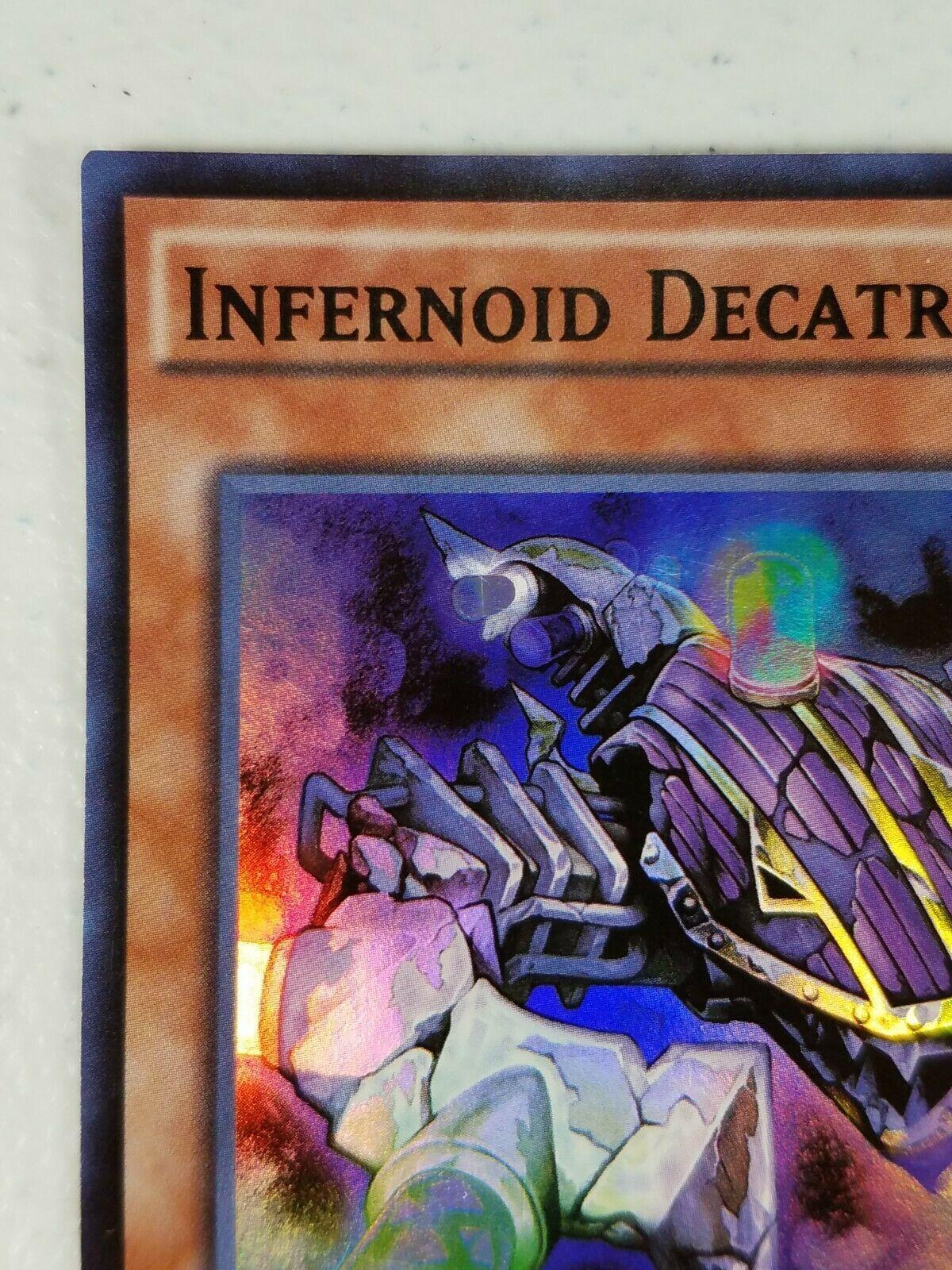 Yu-gi-oh! Trading Card - Infernoid Decatron - CORE-EN039 - Super Rare - 1st Ed.