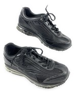 SFC Shoes for Crews 9043 Aurora Black Leather w/ Air Sole Work Women's 8 US - $28.50
