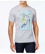 NEW MENS G.H.BASS & CO. CREW NECK SUNSET COVE GREY T SHIRT TEE M - $9.99