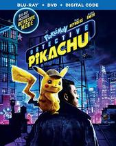 Pokemon Detective Pikachu  (Blu-ray + DVD + Digital, 2019)