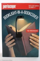 New Periscope Book Light in a Bookcover for Paperbacks New in Box 4606 - $21.73