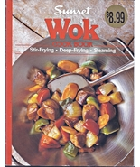 Sunset WOK Stir-Fry & Deep Frying Steaming  Large Softcover Cookbook 96 ... - $4.00