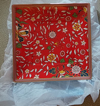 """unused Wedgwood Crimson Jewel Gift Tray 5.7"""" NIB - $22.99"""