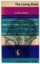 The Living Brain W Grey Walter 1961 Book Postcard - $5.99
