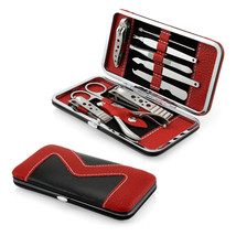 10 PCS Pedicure / Manicure Set Nail Clippers Cleaner Cuticle Grooming Ki... - $14.99