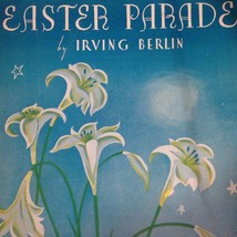 1933 Sheet Music for Easter Parade Irving Berlin Music  - $12.62