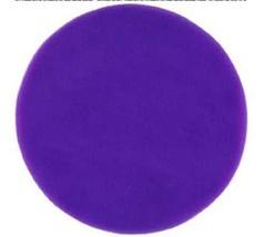 "50 Straight Edge Tulle Circles 12"" Wedding Favor Wrap - Purple - $8.42"