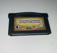 Gameboy Advance The Curse of the Black Pearl Game Cartridge ONLY TESTED - $5.99