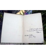 Zane Grey, Buffalo Jones inscribed THE LAST OF THE PLAINSMEN - First Edi... - $833.00
