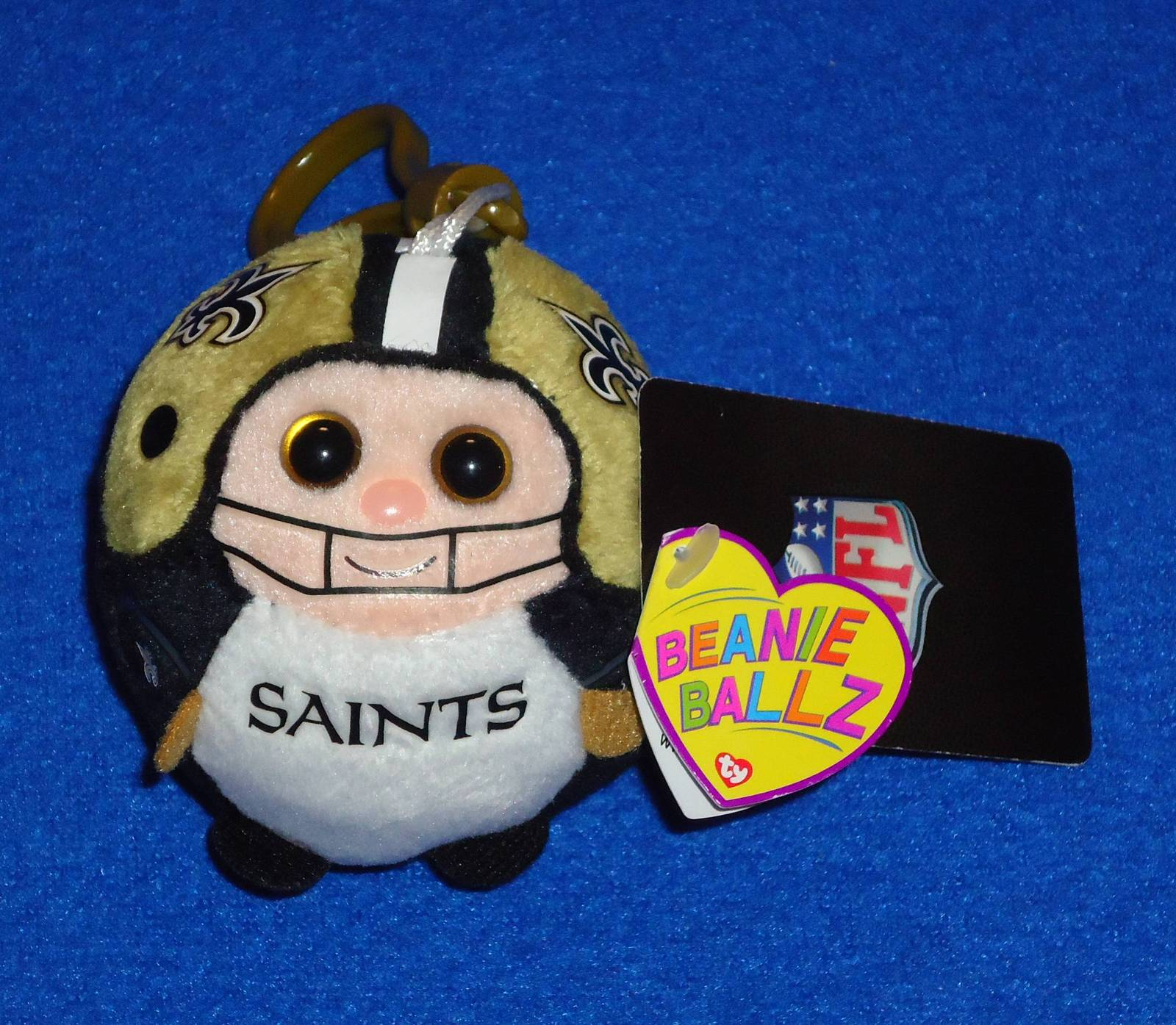 TY Beanie Babies Ballz New Orleans Saints New with tags