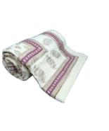 100 Percent Cotton Bedding Quilts Leaf Hand Block Print King Size Soft Online - $120.00