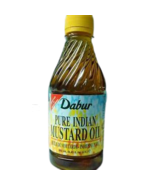 Dabur 1 liter Bottle 33.8 fl oz XXL 100% Pure Mustard Oil / COLD PRESSED USA SLR - $21.00