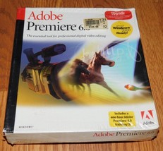 Adobe Premiere 6.0 Upgrade Brand New Sealed - $16.49