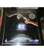 E.T. Extraterrestrial Laserdisc collector's box set sealed - $39.99
