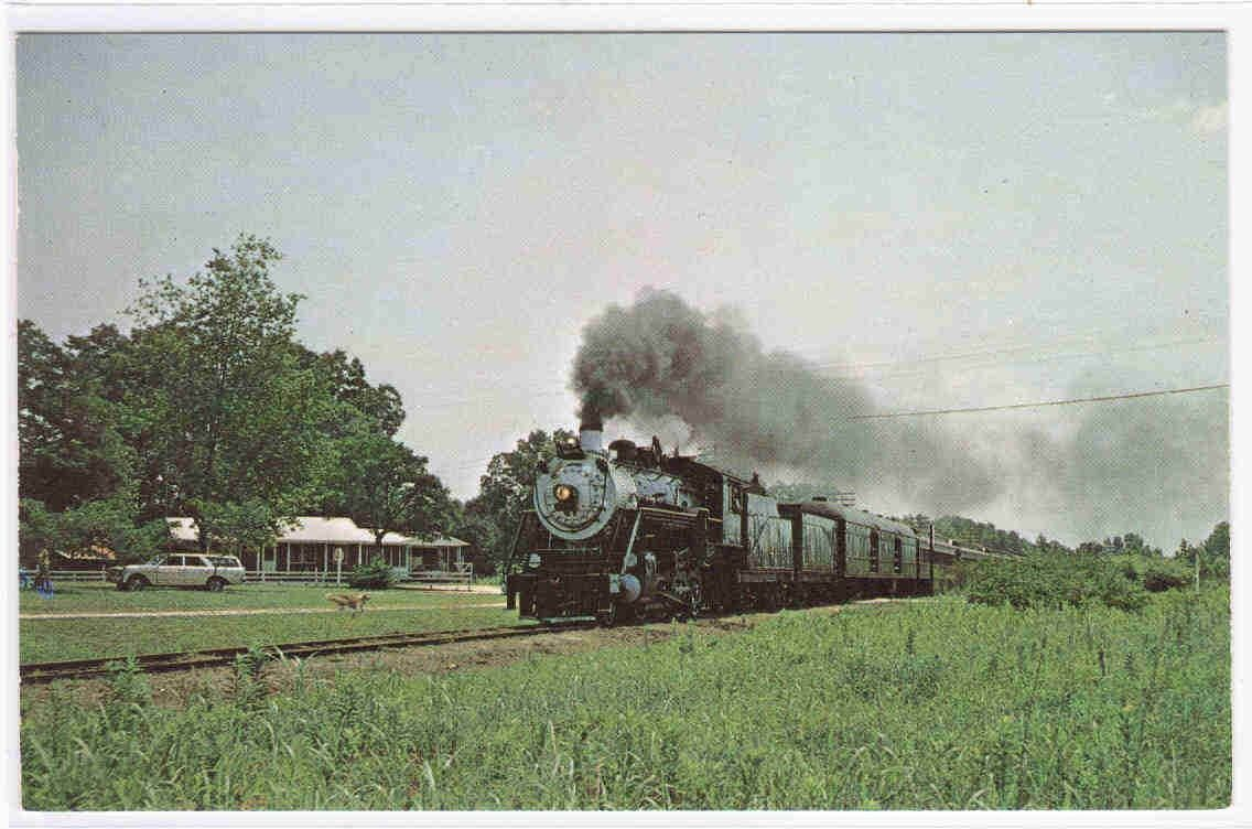 Southern Railroad Train 630 Branchville SC postcard
