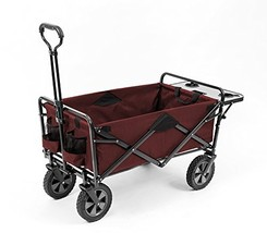 Mac Sports Collapsible Outdoor Utility Wagon with Folding Table and Drin... - $102.70