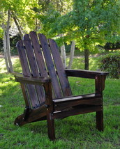 Cedar Folding Adirondack Chair Shine Company Marina 5 Colors  - $166.55