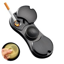 Cigarette Lighter USB Charging EDC Hand Spinner Fidget - One Item w/Random Color