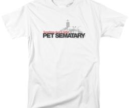 Pet Sematary Graphic T-shirt Retro 80's Horror Stephen king PAR293 image 2