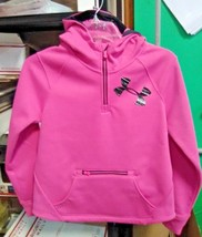Under Armour Girls' Storm ColdGear Infrared Dobson ½ Zip Hoodie Youth Me... - $74.99