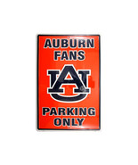 "Auburn Fans Parking Only Aluminum Wall / Man-cave Sign 12""X18"" - $19.15"