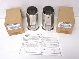 OEM 2011-2017 Nissan Juke 2 Piece Stainless Steel Exhaust Tip End Finish... - $30.00