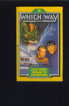 STAR TREK Voyage To Adventure 1984 WHICH WAY Book Leonard NIMOY William ... - $6.99