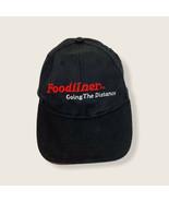 Foodliner Going the Distance Black Cotton Adjustable Baseball Cap Ball Hat - $17.75