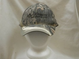 Trucker Hat Baseball Cap Ag Country Farm And Credit Services Camo Nice Style - $39.99