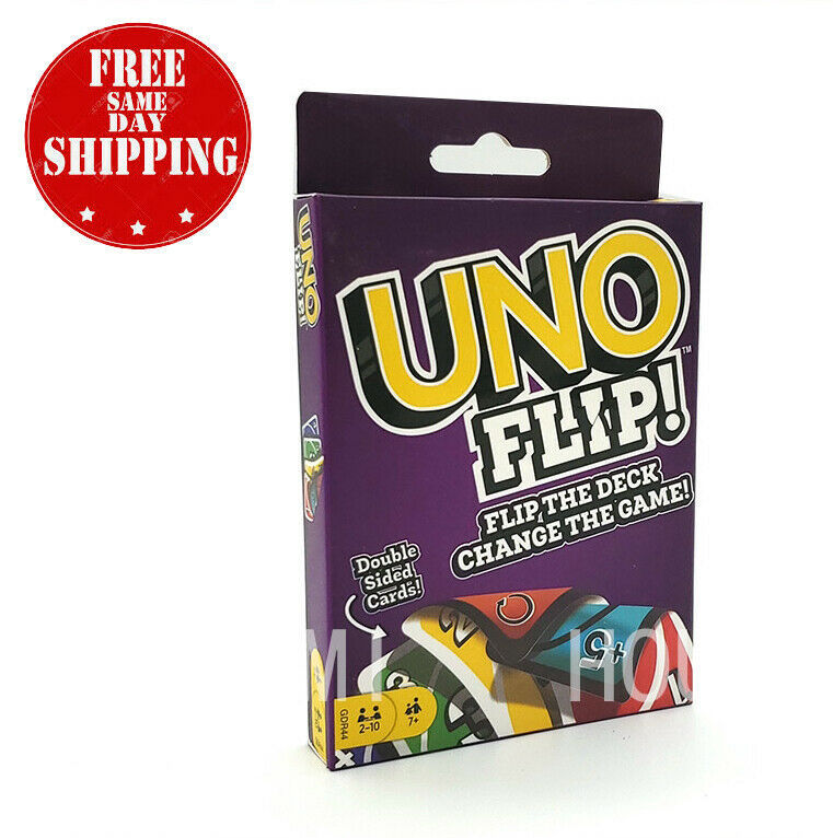 Primary image for UNO Flip Card Game - US Seller - Ship Fast - Free Shipping