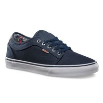 VANS Chukka Low (Totem) Navy White Casual Sneakers MEN'S 7.5 WOMEN'S 9 - $47.95