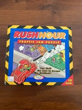 Vintage Rush Hour Traffic Jam Puzzle Logic Strategy Game Used 100% Complete - $9.49