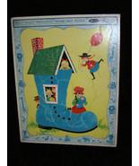 Fuzzy Wuzzy Preschool Frame Tray Puzzle Whitman 1967 - $18.99