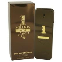 1 Million Prive By Paco Rabanne Eau De Parfum Spray 3.4 Oz 534899 - $83.31