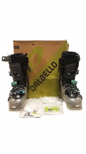 Women Dalbello Panterra 95 ID Ski Boot Black Glitter 25/25.5 Box Made in Italy