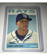 Chris Archer 2013 Topps Heritage Real One Autographs - $24.99