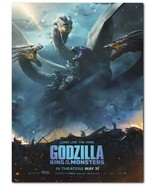 "Godzilla: King Of The Monsters Movie Poster 24x36"" - Frame Ready - USA S... - $17.09"