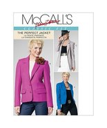 McCall's Patterns M6172 Misses' Lined Jackets in 3 Lengths, Size FF (16-... - $15.68