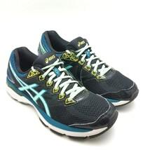 ASICS GT-2000 Womens Running Training Shoes Black Blue Teal Yellow Women... - £24.08 GBP