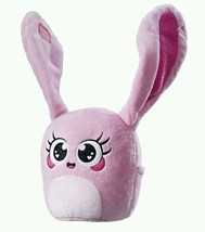 Hanazuki Plush Hemka Pink Loving App Smart Device Gift Moonflower Bunny ... - $14.47