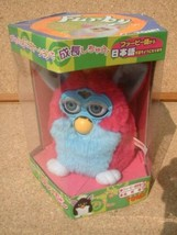 TOMY Furby Purple Blue color version Japanese ver. Toy Electronic Japan A62 - $540.00
