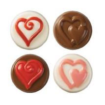 Wilton Candy Melts Cookie Mold Heart Valentines Anniversary Wedding Shower - ₨487.78 INR