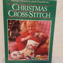 Christmas Cross Stitch Better Homes and Gardens Book 1987 Patterns Nativity - $14.00